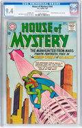 Silver Age (1956-1969):Science Fiction, House of Mystery #144 (DC, 1964) CGC NM 9.4 Off-white to white pages....