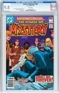 Modern Age (1980-Present):Horror, House of Mystery #289 (DC, 1981) CGC NM/MT 9.8 White pages....