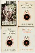Books:Science Fiction & Fantasy, J.R.R. Tolkien. Group of Four Books. Includes: The Silmarillion. Boston: Houghton Mifflin, 1977. First US edition, f... (Total: 4 Items)