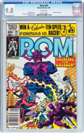 Modern Age (1980-Present):Science Fiction, Rom #26 (Marvel, 1982) CGC NM/MT 9.8 White pages....