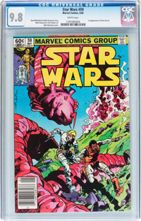 Star Wars #59 (Marvel, 1982) CGC NM/MT 9.8 White pages