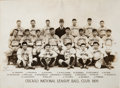 Baseball Collectibles:Photos, 1906 Chicago Cubs Original Team Photograph....