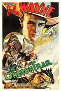 "Movie Posters:Western, The Oregon Trail (Republic, 1936). One Sheet (27"" X 41"").. ..."