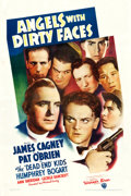 """Movie Posters:Crime, Angels with Dirty Faces (Warner Brothers, 1938). One Sheet (27"""" X 41"""").. ..."""