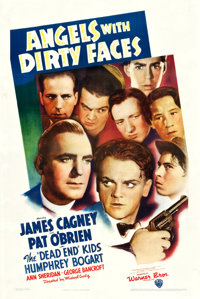"Angels with Dirty Faces (Warner Brothers, 1938). One Sheet (27"" X 41"")"