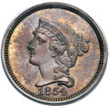Patterns, 1854 P1C One Cent, Judd-161, Pollock-187, R.4, PR63 Red and Brown PCGS....