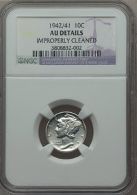 1942/1 10C FS-101 -- Improperly Cleaned -- NGC Details. AU. NGC Census: (86/495). PCGS Population: (4/12). AU50. Mintage...