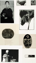 Books:Prints & Leaves, [Barry Moser]. Group of Eight Engraving Proofs, MostSIGNED/LIMITED. Undated.. ...