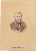 Photography:Cabinet Photos, Large Ulysses S. Grant War-Dated Photograph....