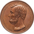 Political:Tokens & Medals, Another Example of Massive Lincoln Assassination Medal....