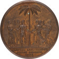 Political:Tokens & Medals, Great Britain: William IV 1834 Abolition of Slavery in Great Britain....