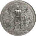 Political:Tokens & Medals, Great Britain: Commemorating William IV and his Abolition of Slavery....