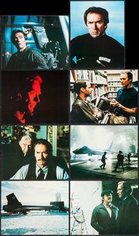 """Firefox (Warner Brothers, 1982). Deluxe Mini Lobby Card Set of 8 (8"""" X 10""""). Action. ... (Total: 8 Items)"""