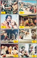 "Movie Posters:Fantasy, Sinbad and the Eye of the Tiger (Columbia, 1977). Lobby Card Set of8 (11"" X 14""). Fantasy.. ... (Total: 8 Items)"