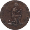 Political:Tokens & Medals, Great Britain: Middlesex. Political & Social Series - Slavery ½ Penny Token ND (c. 1790)....