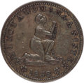 Political:Tokens & Medals, Hard Times Token: Am I Not a Woman and a Sister 1838....