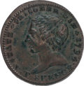 Miscellaneous, Great Britain: Middlesex. Political & Social Series - Slavery ½Penny Token 1794....