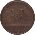 Political:Tokens & Medals, Sierra Leone: 1807 Abolition of the Slave Trade Medal....