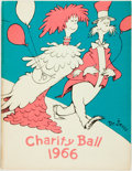 Miscellaneous:Ephemera, [Event Programme]. Dr. Seuss Charity Ball, 1966. [N.p.],1966....