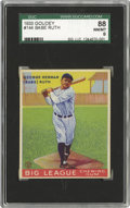 Baseball Cards:Singles (1930-1939), 1933 Goudey Babe Ruth #144 SGC 88 NM/MT 8. The essence of theDepression-era game, distilled into a single three-inch tall ...