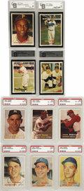 Baseball Cards:Sets, 1957 Topps Baseball Complete Set (407). Offered is a 1957 Topps Complete Baseball set. This set has everything a collector c...