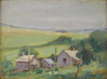 Texas:Early Texas Art - Regionalists, ALICE ADKINS MEREDITH (b. 1905). White Rock. Oil oncanvasboard. 12 x 16 inches (30.5 x 40.6 cm). Signed lower left.Sig...
