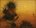 Texas:Early Texas Art - Impressionists, ROBERT DELEON (b. 1953). Desert Critter, 1984. Oil oncanvas. 11 x 14 inches (27.9 x 35.6 cm). Signed, dated, andtitled...