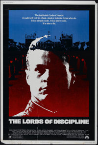 "The Lords of Discipline (Paramount, 1983). Poster (40"" X 60""). Drama. Directed by Franc Roddam. Starring David..."