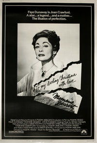 "Mommie Dearest (Paramount, 1981). Poster (40"" X 60""). ""No wire hangers EVER!"" This film is based on..."