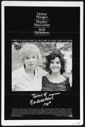 "Movie Posters:Academy Award Winner, Terms of Endearment (Paramount, 1983). One Sheet (27"" X 41""). Comedy Drama. Directed by James L. Brooks. Starring Debra Wing..."