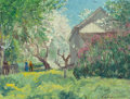 Paintings, C. HARRY ALLIS (American, 1870-1938). Spring Blossoms. Oil on board. 12 x 16 inches (30.5 x 40.6 cm). Signed lower right...