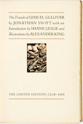 Books:Literature Pre-1900, Alexander King, illustrations. SIGNED/LIMITED. Jonathan Swift.The Travels of Lemuel Gulliver. Limited Editions Club...