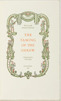Books:Literature Pre-1900, William Shakespeare. The Taming of the Shrew. Lewis Osborne,1967. Decorations by Valenti Angelo. 6 illustrated plat...