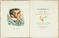 Books:Literature Pre-1900, Jean Charlot, illustrations. SIGNED/LIMITED. Prosper Merimee.Carmen. New York: The Limited Editions Club, 1941. Lim...