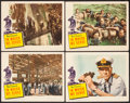 "Movie Posters:War, In Which We Serve (United Artists, 1942). Lobby Cards (4) (11"" X14""). War.. ... (Total: 4 Items)"