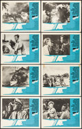 "Movie Posters:War, In Harm's Way (Paramount, 1965). Lobby Card Set of 8 (11"" X 14"").War.. ... (Total: 8 Items)"