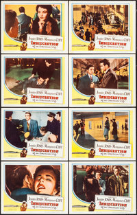 """Indiscretion of an American Wife (Columbia, 1954). Lobby Card Set of 8 (11"""" X 14""""). Drama. ... (Total: 8 Items..."""
