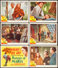 """Movie Posters:Romance, Maria Candelaria (MGM, R-1946). Title Lobby Card & Lobby Cards (6) (11"""" X 14""""). Romance. Re-Issue Title: Portrait of Maria... (Total: 7 Items)"""