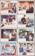 "Movie Posters:Adventure, That Man in Istanbul (Columbia, 1966). Lobby Card Set of 8 (11"" X 14""). Adventure.. ... (Total: 8 Items)"