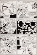 Original Comic Art:Panel Pages, Don Heck and Dick Ayers Avengers #12 Page 19 Original Art(Marvel, 1965)....