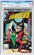 Modern Age (1980-Present):Superhero, Daredevil #197 (Marvel, 1983) CGC NM/MT 9.8 White pages....