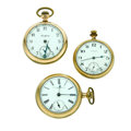 Timepieces:Pocket (post 1900), New York Standard, Rockford & Waltham Pocket Watches Runners.... (Total: 3 Items)