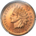 Proof Indian Cents, 1878 1C PR66 Red Cameo PCGS....