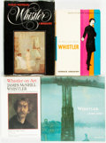 Books:Biography & Memoir, [James McNeil Whistler]. Group of Four Books Related to Whistler.Various publishers and dates.... (Total: 4 Items)