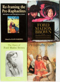 Books:Art & Architecture, [Art]. Group of Four Titles Related to Pre-Raphaelites. Various publishers and dates.... (Total: 4 Items)