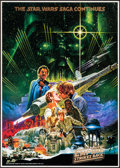 """Movie Posters:Science Fiction, The Empire Strikes Back (20th Century Fox, 1980). Japanese B2 (20""""X 28.5"""") Style B & Commercial Poster (20.75"""" X 29.25""""). S...(Total: 2 Items)"""