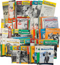 "Miscellaneous Collectibles:General, 1940's-50's ""American Motorcycling"" Magazines Lot of 125...."