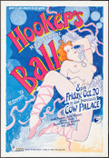 "Movie Posters:Rock and Roll, Hooker's Masquerade Ball by Robert Gotsch (Margo St. James, 1978).Events Poster (20"" X 29""). Rock and Roll.. ..."
