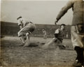 Baseball Collectibles:Photos, 1910's Ty Cobb Sliding Original Photograph, PSA/DNA Type 1....