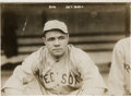 Baseball Collectibles:Photos, 1919 Babe Ruth Original Photograph by George Grantham Bain, PSA/DNA Type 1. ...